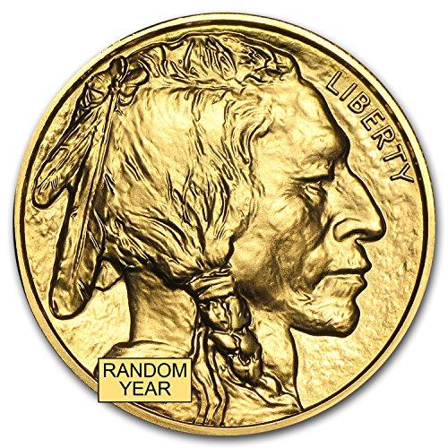 2006 – Present 1 oz Gold Buffalo BU (Random Year) 1 OZ Brilliant Uncirculated