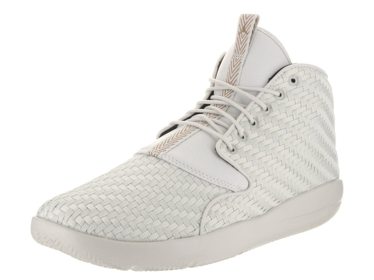 Nike Herren Jordan Eclipse Chukka Schwarz Textil/Synthetik Sneaker  45 EU|hell Knochen / gelbgolden beige/black