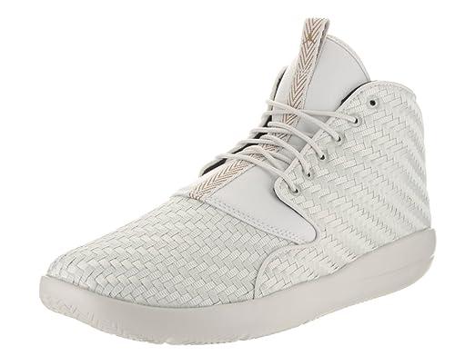 Jordan Nike Men's Eclipse Chukka Light BoneGolden BeigeBlack Basketball Shoe 11.5 Men US