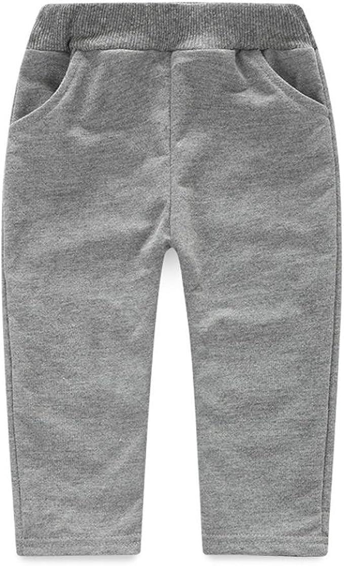Kehen 2PCS Baby Boy Dinosaur Bones Long Sleeve Hooded Tops Grey Pocket Trousers