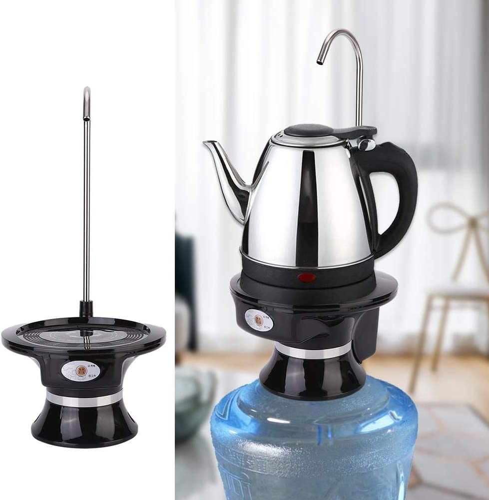 Nero Wifehelper Dispenser Acqua Pompa Acqua elettrica Ricaricabile per Cucina Domestica