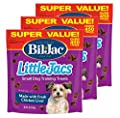 Bil-Jac 840235168621 Little Jacs Small Dog Liver Treats (3 Pack), 16 oz