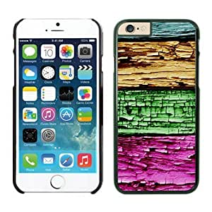 iPhone Cases,6 iphone case colors,cool iphone cases, cute iphone cases, Colorized wood texture Iphone 6 (4.7-inch) Cases Black Cover