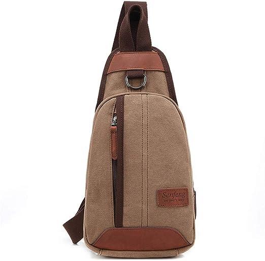 Riñoneras de marcha Sling Bags Chest Pack Hombro Mochila ...