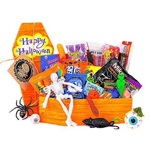 ['Some Mummy Loves You' Gift Basket - Coffin of Treats] (Halloween Gifts)