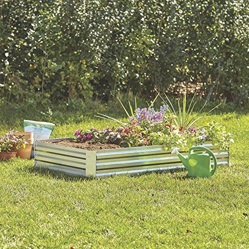 teel Raised Garden Bed — 6ft. x 3ft. ()