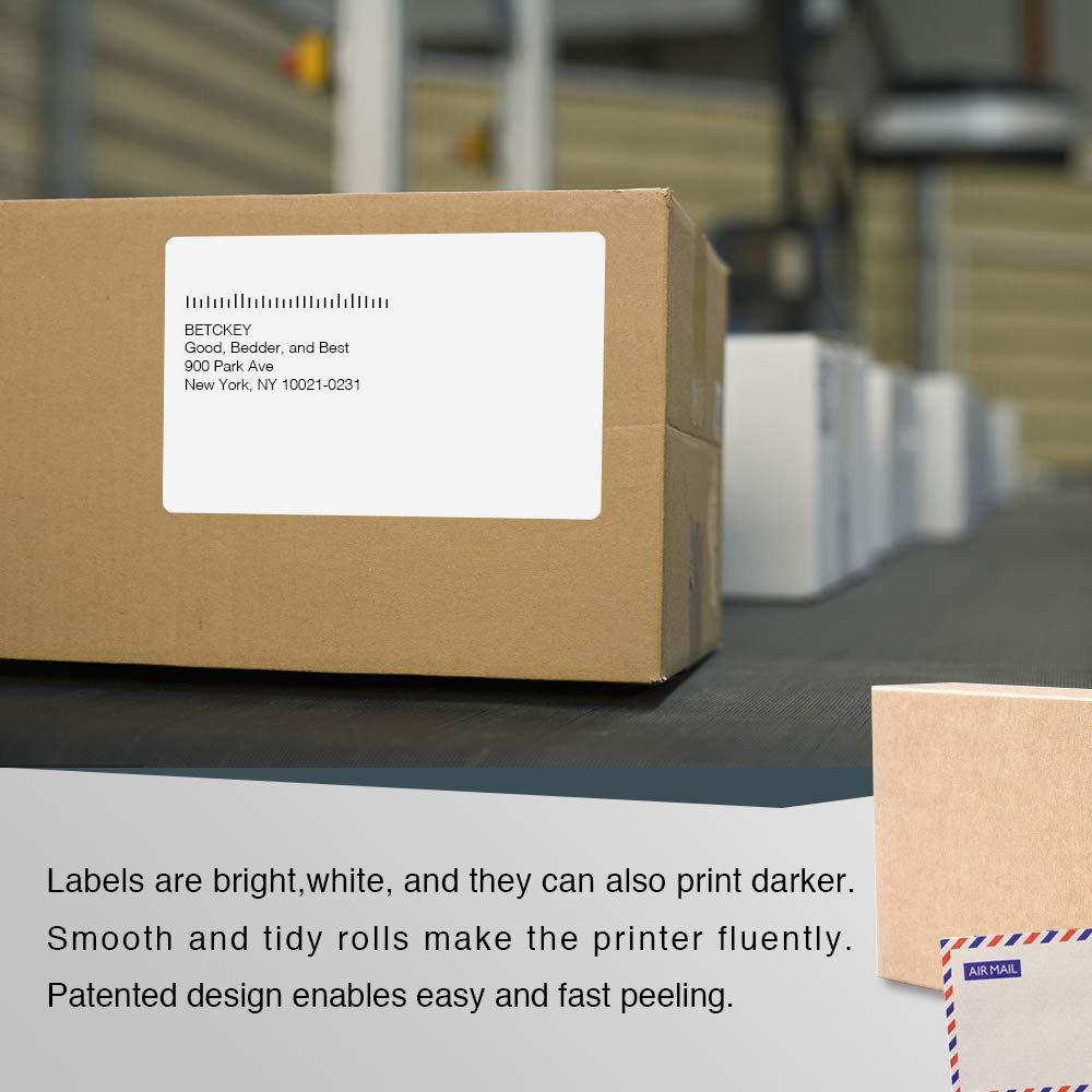 Etichetta per rotolo: 220 per Dymo LabelWriter 4XL Stampante per Etichette Printing Pleasure Compatibile Rotolo Dymo S0904980 104mm x 159mm Etichette di Spedizione