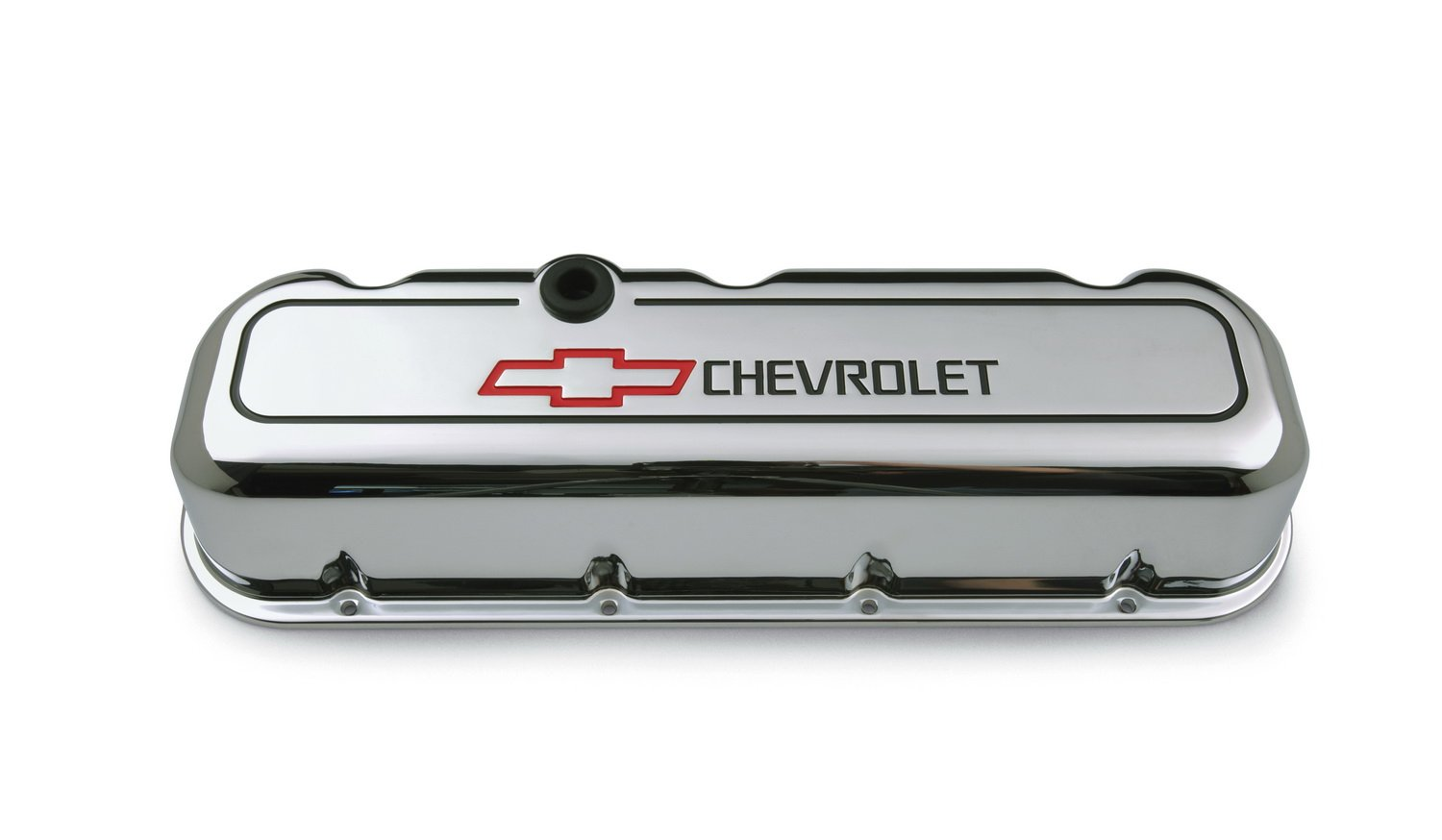 Proform 141-140 BBC Chrome Die Cast Valve Cover - Tall with Baffle