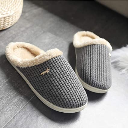 Zapatos de dormitorio Zapatillas de casa de invierno para mujer Zapatillas de casa de espuma de