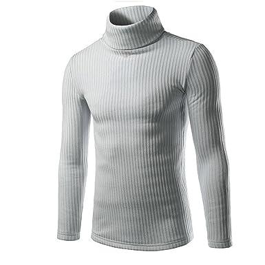 0ff9b8469d1f6 FeiTong Pull Veste en Maille - Homme  Amazon.fr  Vêtements et accessoires
