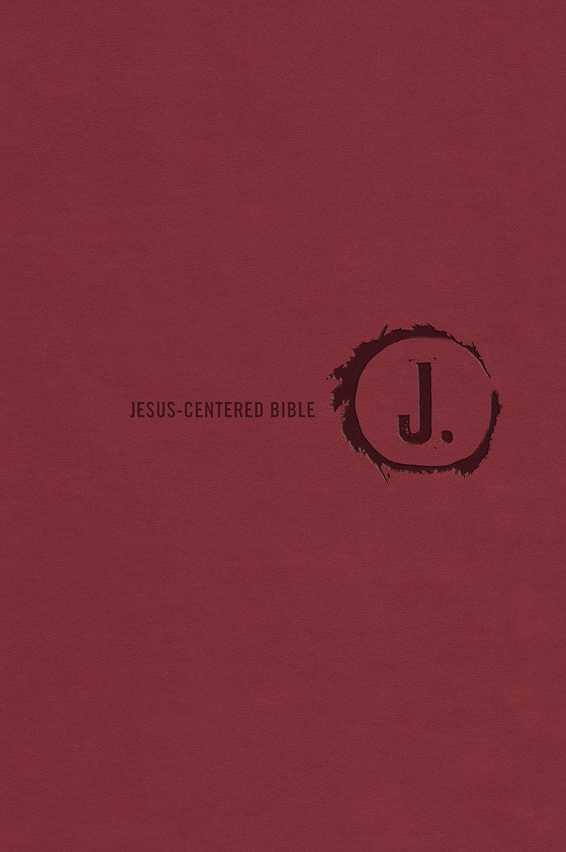 Jesus-Centered Bible NLT, Cranberry pdf epub