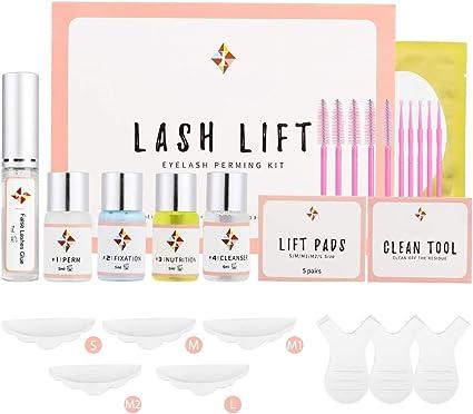 Kit de elevación de pestañas Kit de permanente de pestañas,Lash Lift Kit,Maquillaje De Pestañas,Lifting Pestañas Kit Profesional,Semi-permanente de