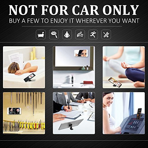 Magnetic Car Phone Holder, Jebsens CM05 Universal 360 Rotation Magnetic Car Phone Mount Holder Metal Car Dashboard Cell Phone Stand Holder for iPhone X, 8, 8Plus, 7, 6S, Galaxy S8, Mini Tablets Black by Jebsens (Image #8)