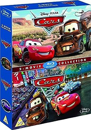 Amazon Com Cars Cars 2 Box Set Blu Ray 2006 Region Free