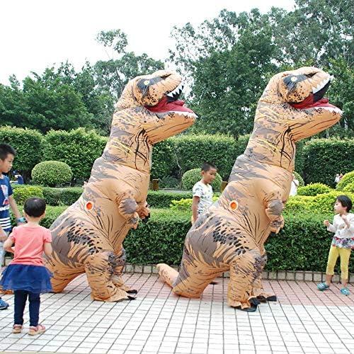 3-7 Ans Garçons Filles Fancy Dress Costume Jurassic Tyrannosaurus Dinosaur
