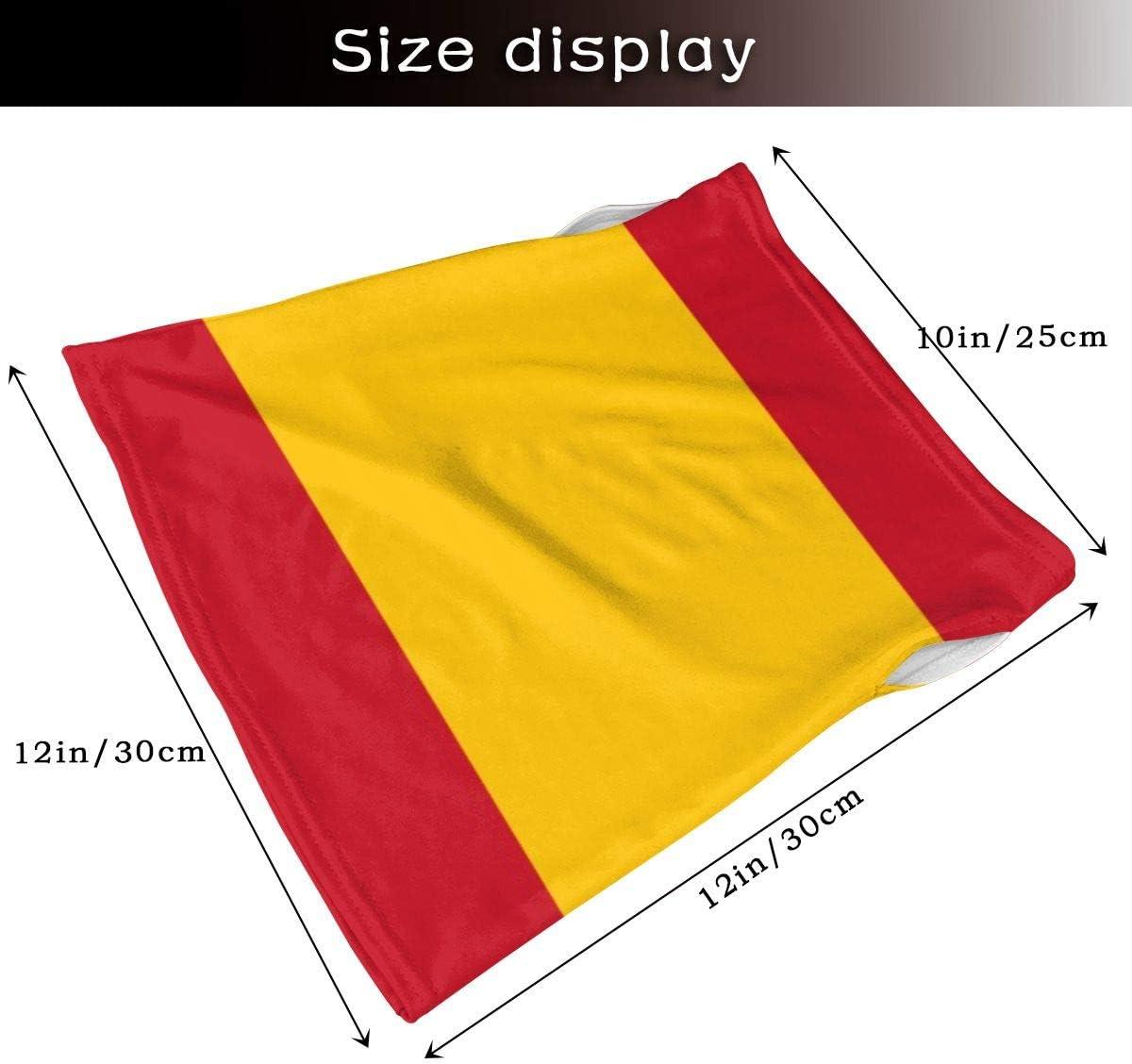 Bandera de España a prueba de viento cubierta cara con diseño de trabillas para los oídos, accesorio multifuncional para hombres y mujeres: Amazon.es: Bricolaje y herramientas