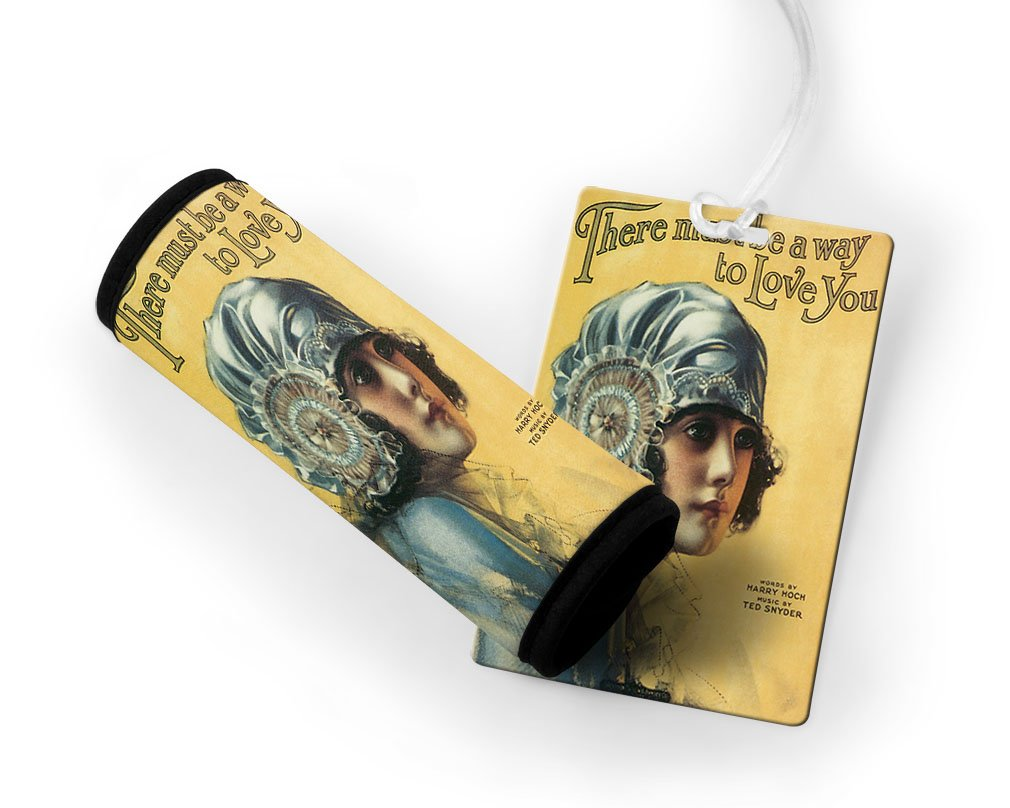 There Must Be A Way To Love You Poster Luggage Finder Tag & Wrap