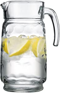 Home Essentials Eclipse 64 oz Glass Water Pitcher