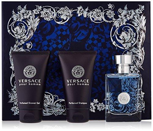 Versace Versace Pour Homme Men Giftset (Eau De Toilette, Shampoo, Shower Gel)