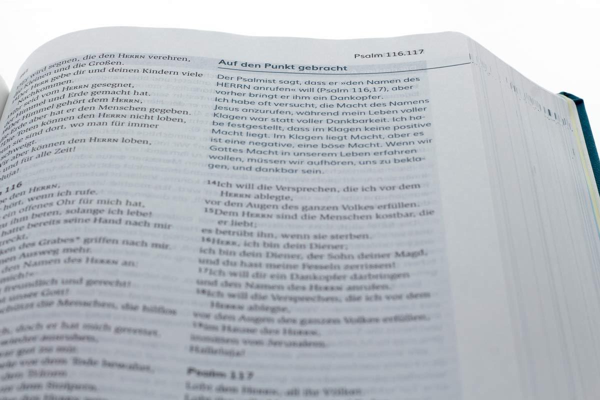 Die Bibel Lesen Glauben Leben Kunstlederausgabe Mit Impulsen Von Joyce Meyer Neues Leben Die Bibel Meyer Joyce Bücher