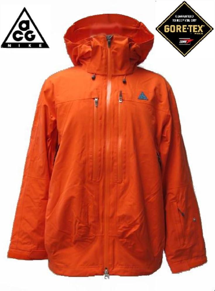 NIKE ACG Gore tex Performance Shell Jacket Orange Mens Snowboard Mountainwear Ski