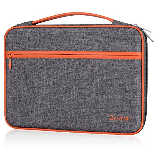 Ztotop-11-116-12-inch-Laptop-SleeveProtective-Waterproof-Carrying-Case-Bag-for-new-12-MacBook-iPad-Tablet-Acer-ASUS-Dell-Lenovo-Samsung-HP-Chromebook-123-Surface-Pro---Dark-Gray