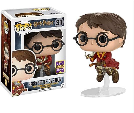 MMZ Harry Potter Pop Figura Forma Harry Potter y Aficionados Piedra Filosofal Película Colección de Quidditch Copa del Mundo