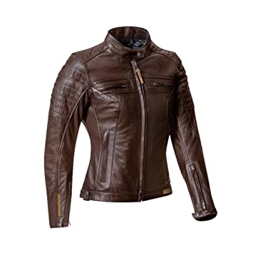 Ixon Torque Lady marrón chaqueta moto: Amazon.es: Coche y moto