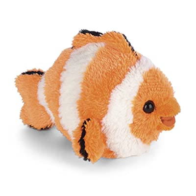 "Bearington Stout Sprouts Bubbles, Clown Fish Stuffed Animal 6"": Toys & Games [5Bkhe2000429]"