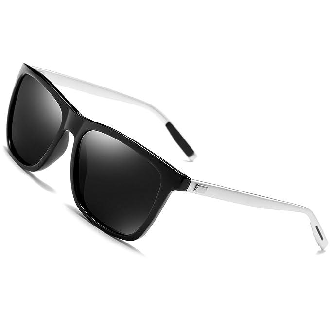 Gafas de sol polarizadas Hombre Mujer vasos para Outdoor Sport, 100% protección UVA gafas unisex Moderno conductores para…