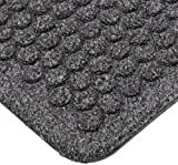 """Notrax 150 Aqua Trap Entrance Mat, for Main Entranceways and Heavy Traffic Areas, 3' Width x 4' Length x 3/8"""" Thickness, Charcoal"""