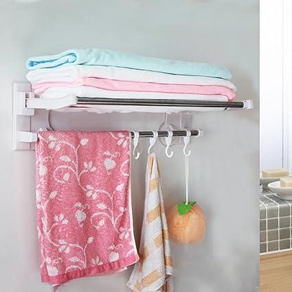 succión taza toallero/Gancho/desorbitarte de toallas/Estantes de baño/estante del