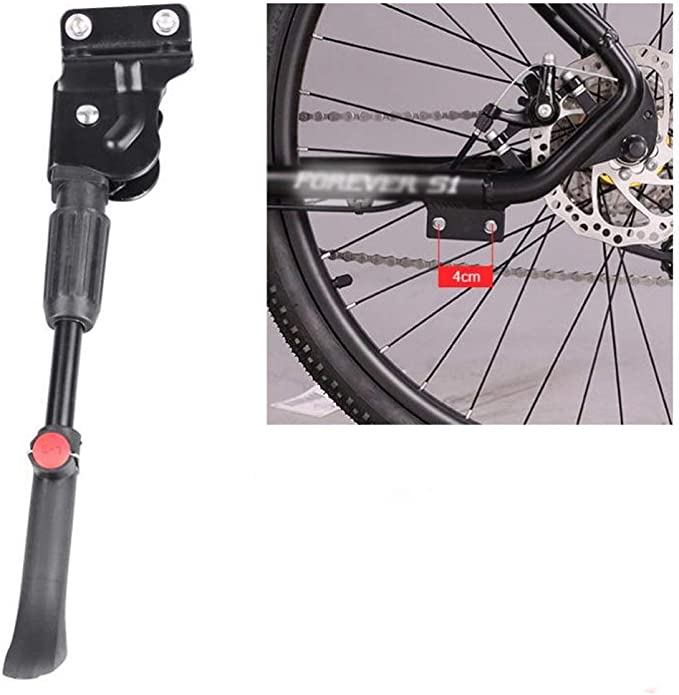 MTB Bike Middle Prop Kick Stands Bicycle Cycle Brace Side Support Adjustable UK