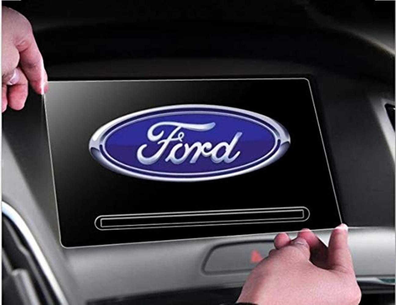Gycinda Ford F-150 2017 Ford カーナビ 175105mm 8インチ クリア強化ガラス タッチスクリーンプロテクター   B0763M1M1B