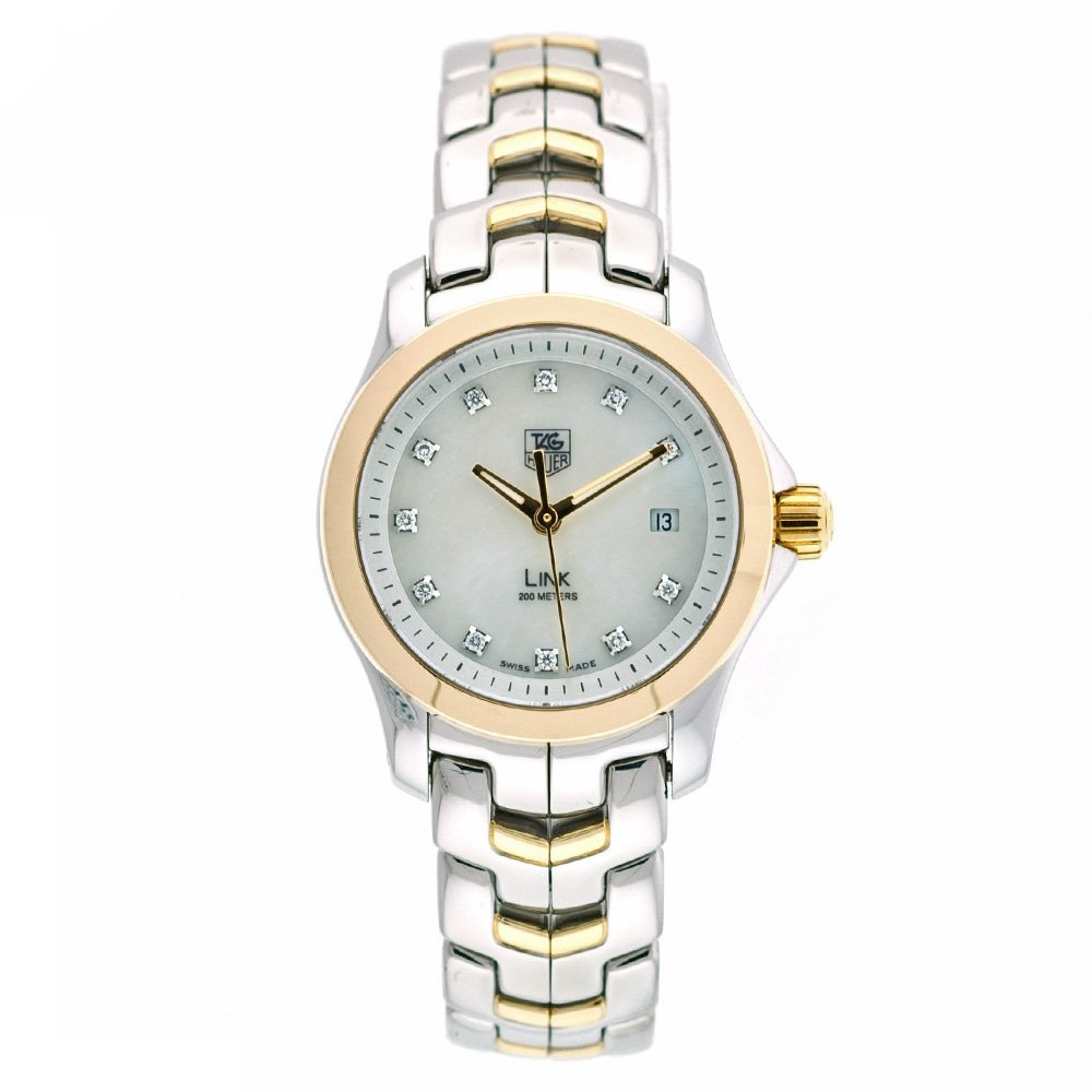 TAG Heuer Women s WJF1353.BB0581 Diamond Accented Two-Tone Link Watch