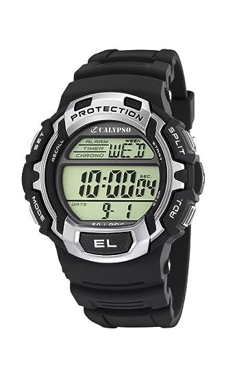 Calypso Reloj Digital para Hombre de Cuarzo con Correa en Plástico K5573_1