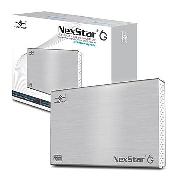 "Vantec NexStar 6G 2.5"" USB con suministro de corriente Aluminio - Disco duro en red"