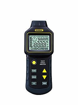 General Tools Analizador de circuitos 110/220-VAC con pantalla LCD (CA10): Amazon.es: Bricolaje y herramientas