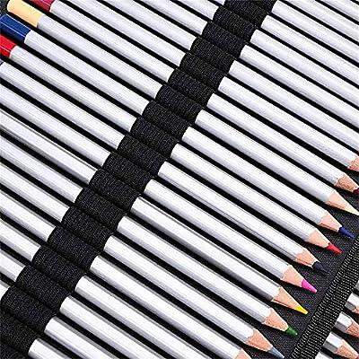 HUATAN Estuche Pinturas para niños maletin Pinturas para niños, Material para Dibujo Profesional Material de Dibujo Estuches para Colorear, 160 Piezas,Plata: Amazon.es: Hogar