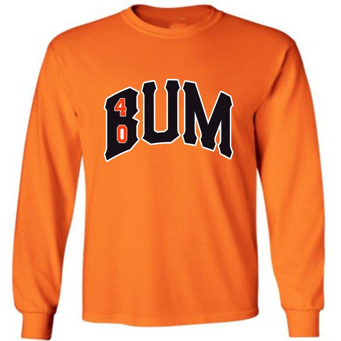 Orange Bumgarner San Francisco Bum T-shirt Adult