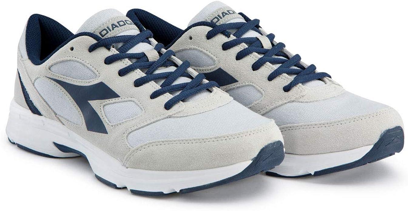 Diadora - Zapatos Mujer, 44, Grigio Alluminio/BLU Tuareg: Amazon ...