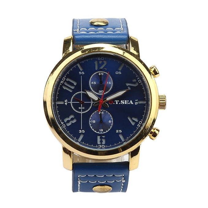 ZODOF Relojes Hombres, Reloj de Pulsera de Reloj de Cuarzo analógico de Cuarzo de Dama analógico clásico: Amazon.es: Ropa y accesorios