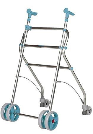 Forta fabricaciones - Andador de aluminio para ancianos Rollatino - Esmeralda