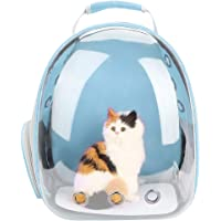 Yosoo Transparent Space Capsule Design Portable Pet Carrier Backpack