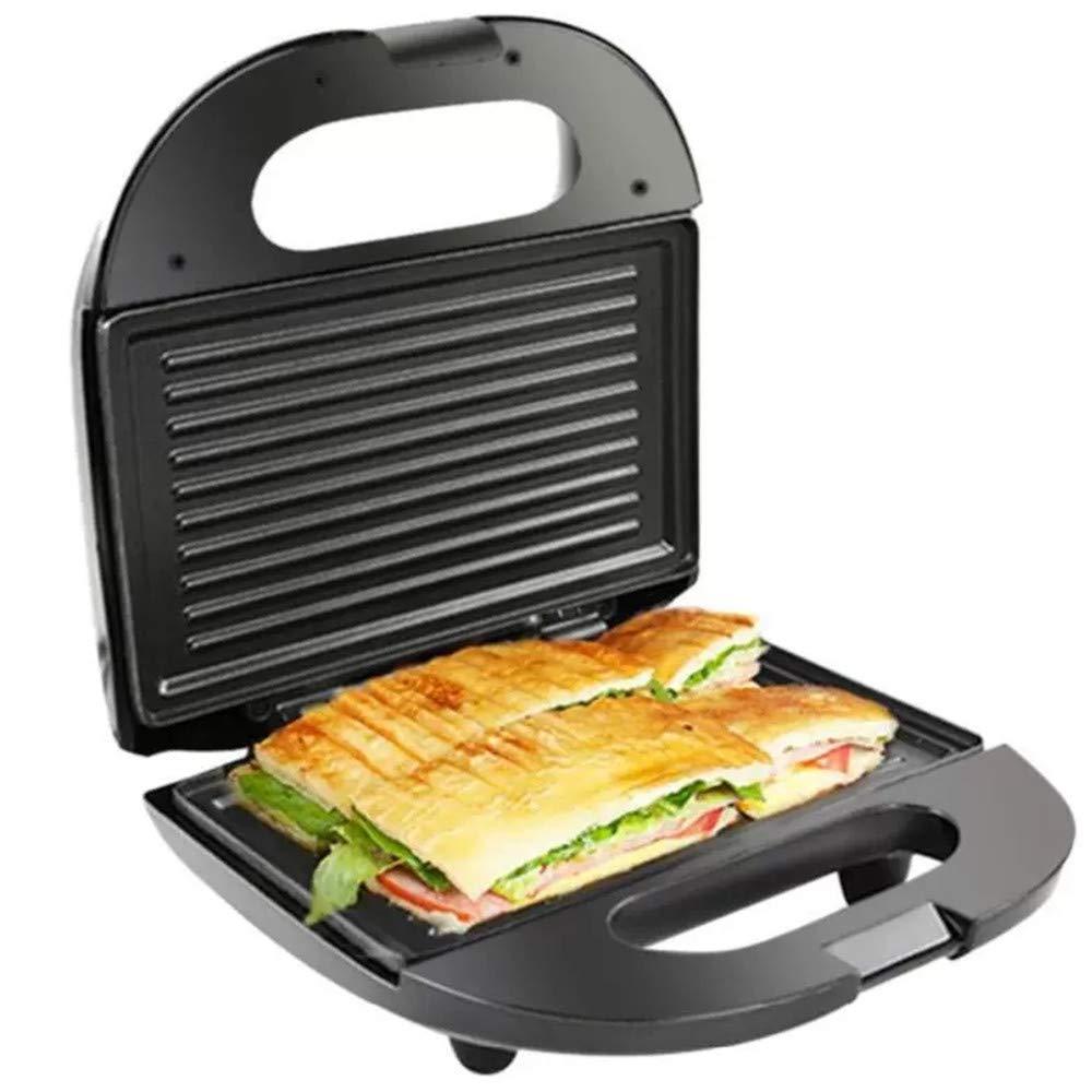 DIYARTS R/ôti Sandwich Maker Viande Steak Steak Hamburger Four Grill Grill /Électrique 750 W Machine /À Petit D/éjeuner Anti-adh/ésive EU Plug