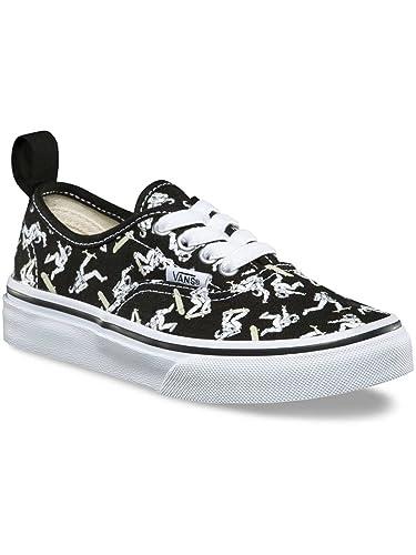 45b26b7f79 Vans Sneakers Kids Authentic Elastic Lace Sneakers Boys  Amazon.co.uk   Shoes   Bags
