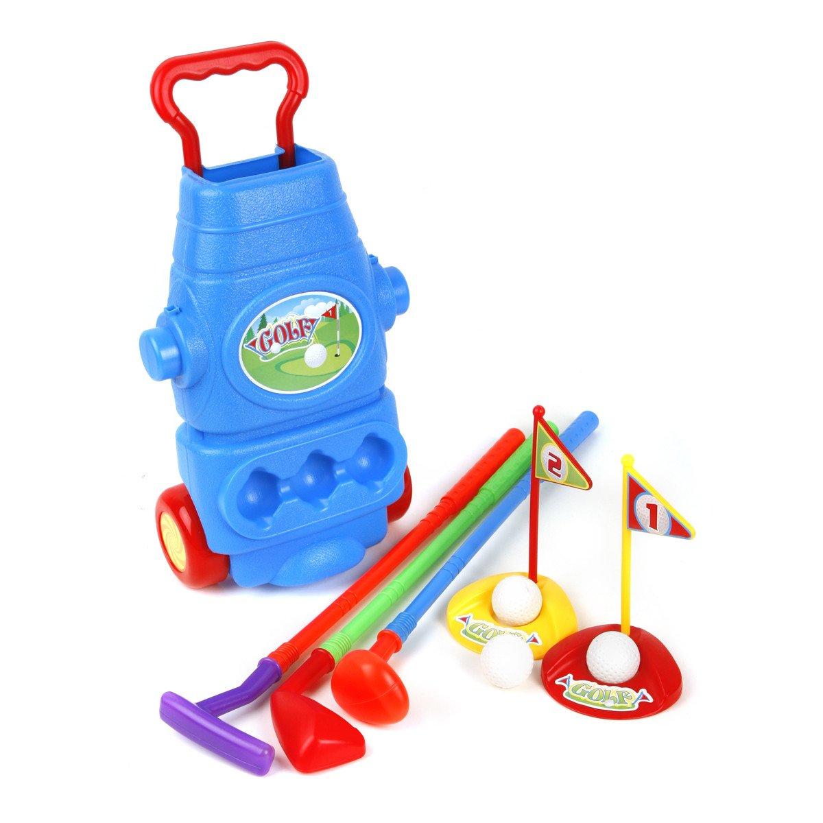 Ojam Swing 'N Play Kids Toy Golf Set (9) (9 Piece)