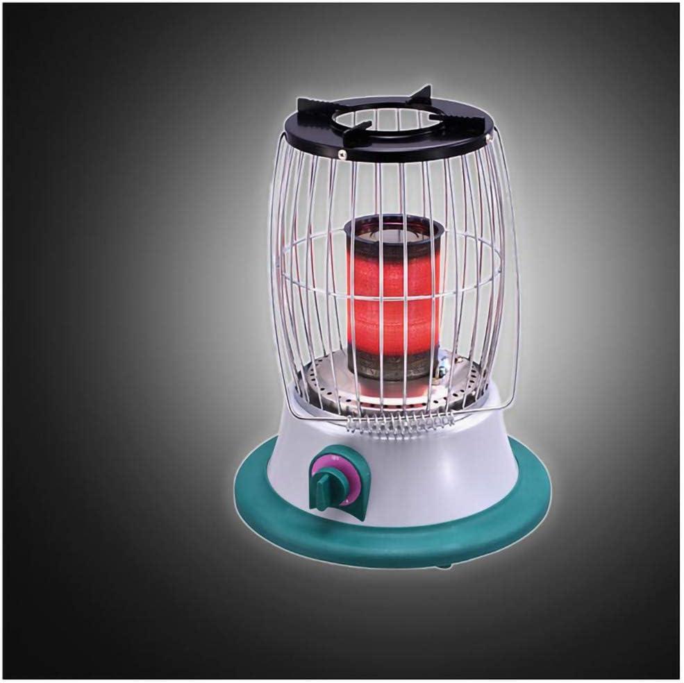 DDLL Gas Calentador de Patio, Portátil de Mesa Calentador de Patio con propano regulador de Gas, Sao hipoxia Protección Apagado, 2-3m Calefacción Distancia, de Baja energía, Calor Gas Calentadores