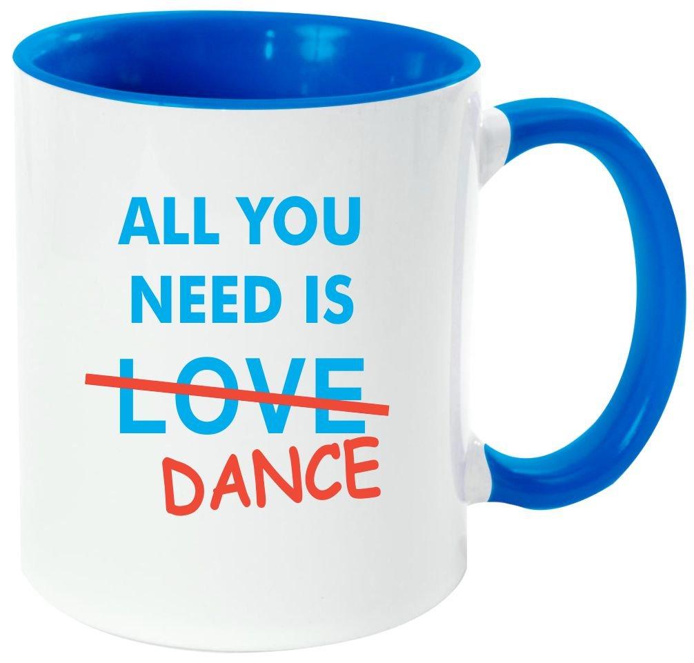 Rikki Knight All You Need Is。。。アルコール – 面白い引用デザイン11オンスセラミックコーヒーマグカップ Light Blue DIS-mugs-LTBLUE-3910 B06XWY7BGW  needdance Light Blue
