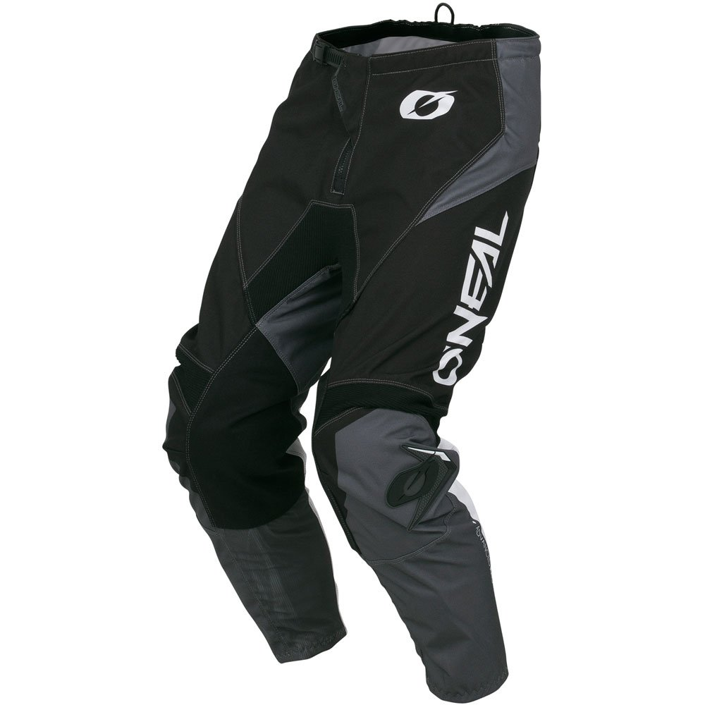 ONeal Element Racewear Black//Gray Adult motocross MX off-road dirt bike Jersey Pants combo riding gear set Pants W38 // Jersey XX-Large